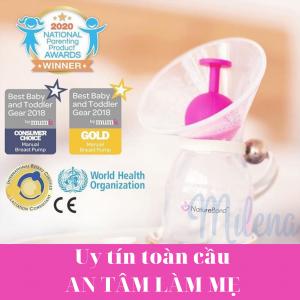 Cốc hứng sữa natureBond model 2020 - Milena - 1