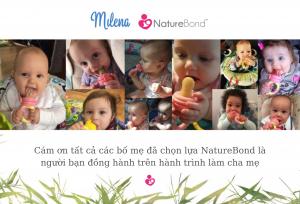 review túi nhai ăn dặm NatureBond - milena -ALL